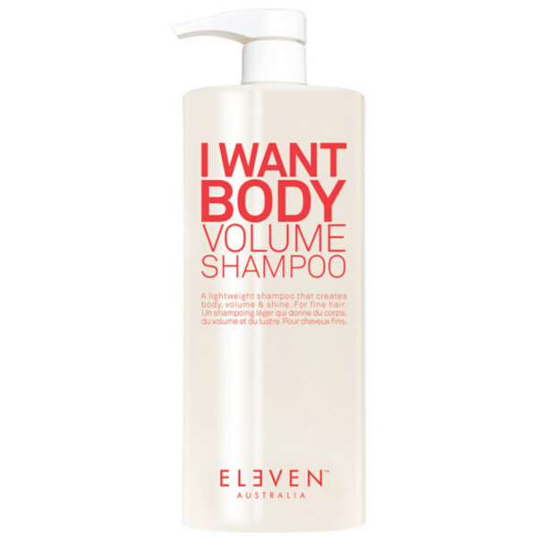 Eleven Australia. Shampoing Volume I Want Body - 1000ml - Concept C. Shop