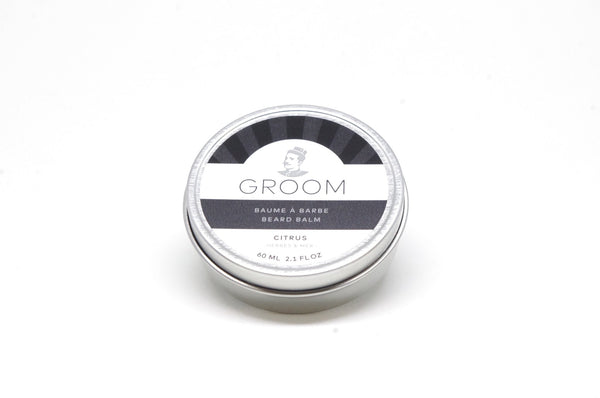 Groom. Baume à barbe Citrus - 60ml - Concept C. Shop