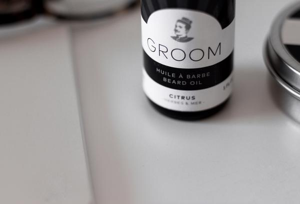 Groom. Huile à barbe Citrus - 30ml - Concept C. Shop