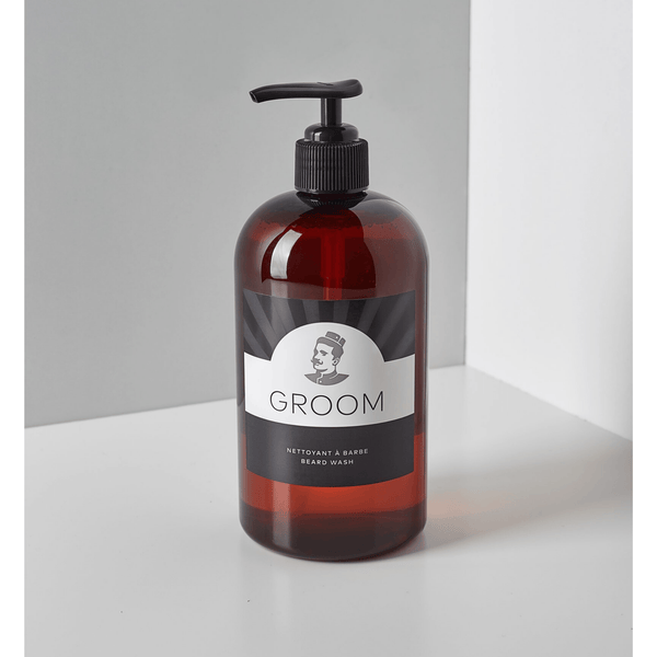 Groom. Nettoyant à barbe - 500 ml - Concept C. Shop