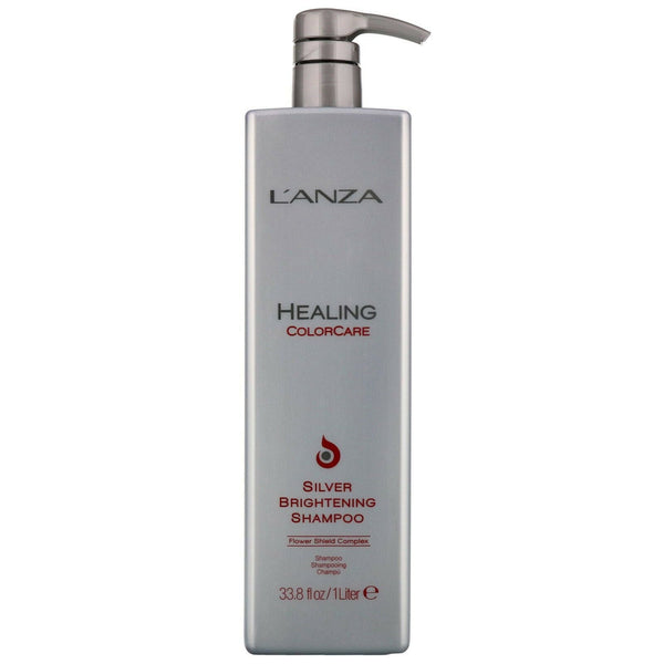 L'Anza. Healing Color Care Shampoing Silver Brightening - 1000 ml - Concept C. Shop