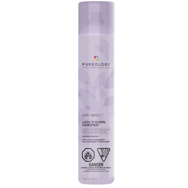 Pureology. Fixatif Tenue Forte Lock It Down Style + Protect - 312 g - Concept C. Shop
