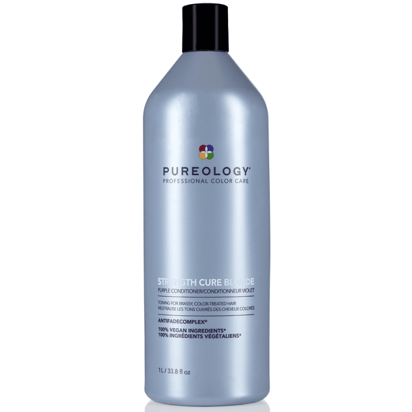 Pureology. Revitalisant Violet Strength Cure Blonde - 1000 ml - Concept C. Shop