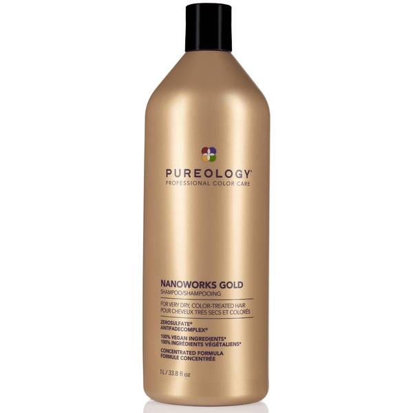 Pureology. Shampoing Nanoworks Gold - 1000 ml - Concept C. Shop