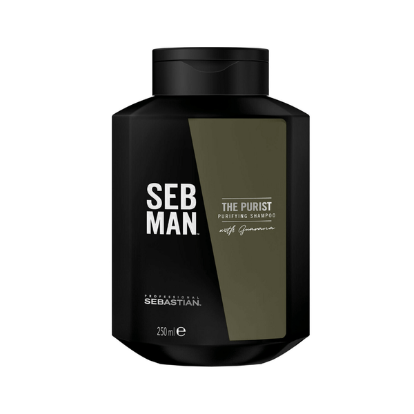 Seb Man. Shampoing Anti-Pelliculaire The Purist - 250ml - Concept C. Shop