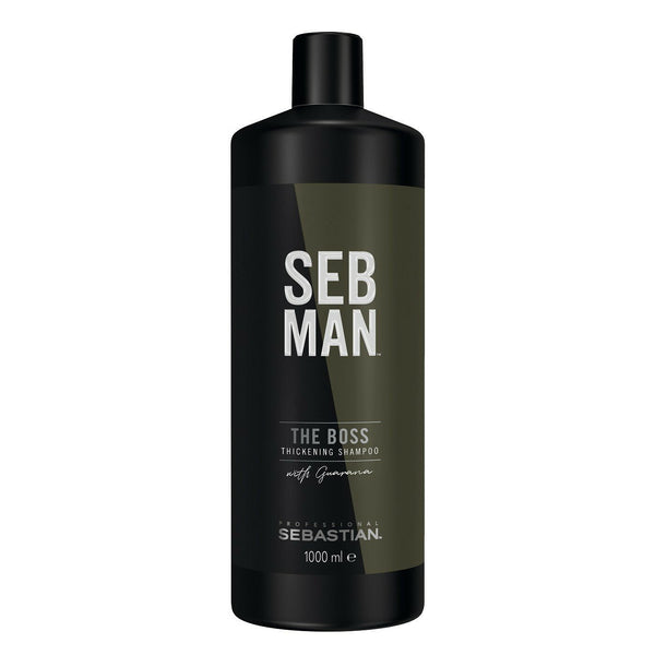 Seb Man. Shampoing Épaississant The Boss - 1000ml - Concept C. Shop