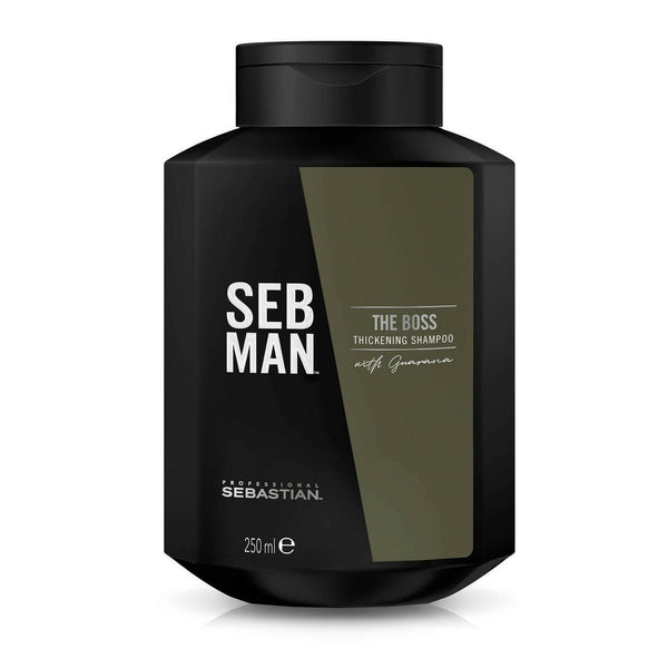 Seb Man. Shampoing Épaississant The Boss - 250ml - Concept C. Shop