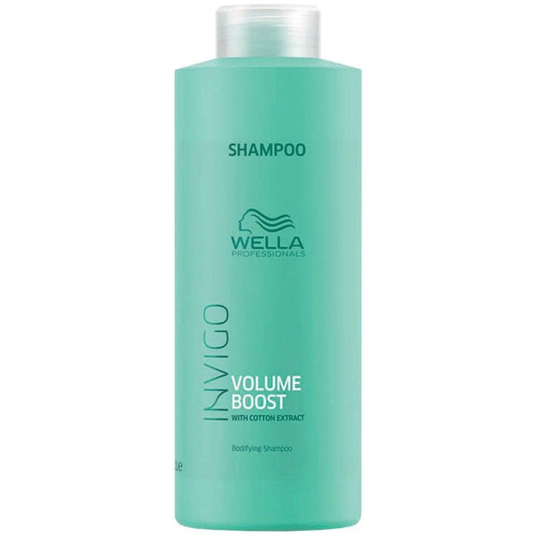 Wella. Invigo Volume Boost Shampoing Volumisant - 1000ml - Concept C. Shop