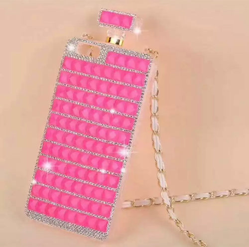 Hot Pink Perfume Bottle Case