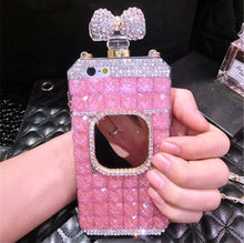 Blinged Out Perfume Bottle Case for Samsung