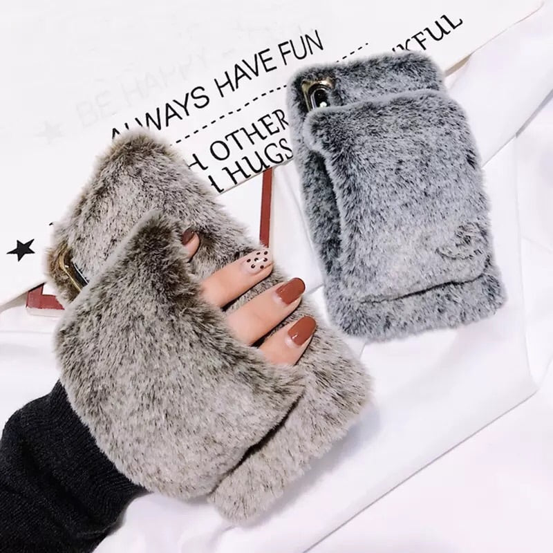 Fur Hand-Warmer Case