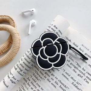 Camellia Flower AirPod Case