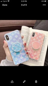 LV Holo Pop-Socket Case