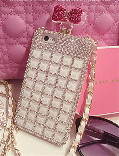 White Bling Perfume Bottle