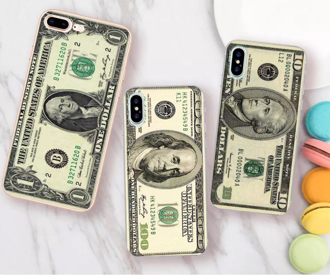 Dollar Bills iPhone Case