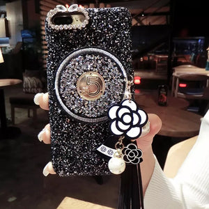Shanel No. 5 Bling Phone Case
