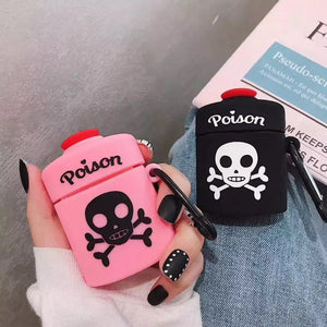 Poison Bottle Air-Pod Case