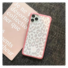 Gray Leopard Case