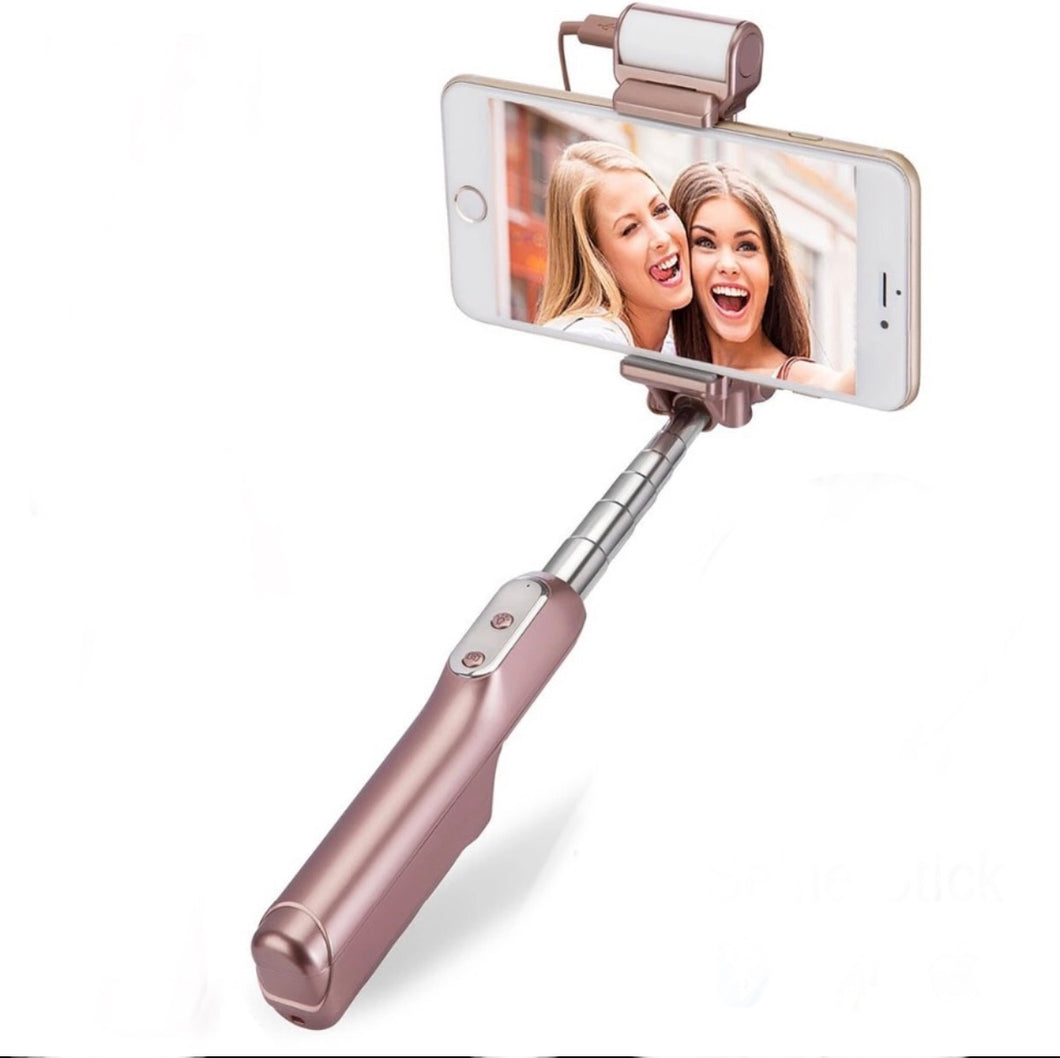 Bluetooth LED Selfie Stick
