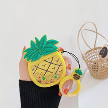 Pineapple Quicksand AirPod Case