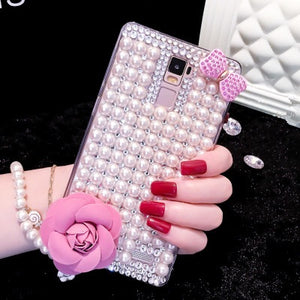 Pearl + Flower Case