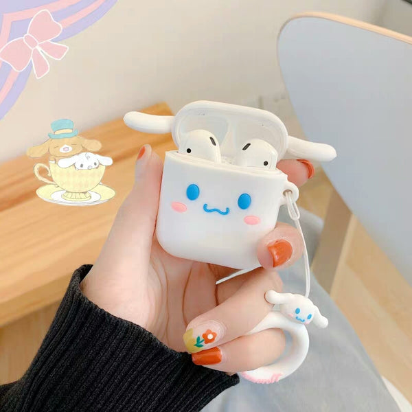 Cartoon The Pink and Cinnamoroll Airpods Case For Iphone PN1245