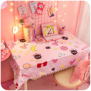 Sailor Moon And Sakura Table Mat PN0871