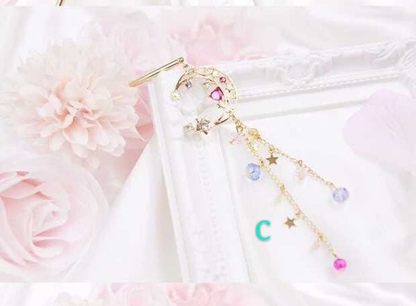 Sailormoon And Sakura Hairpin PN0418