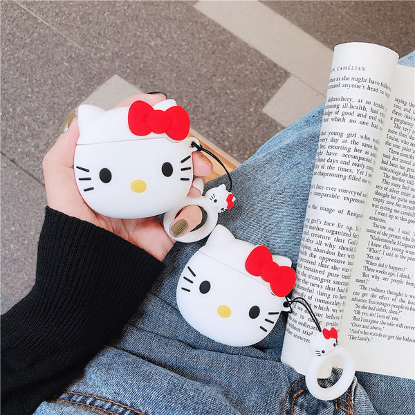 Cute Cat Airpods Case For Iphone PN1445