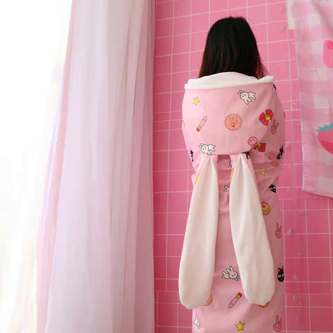 Sailormoon And Strawberry Shawl And Blanket PN0901
