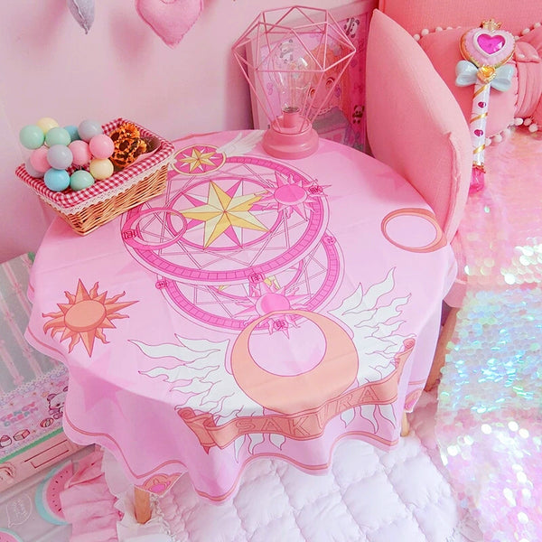 Sakura Cardcaptor Decorative Wall Table Mat PN0468