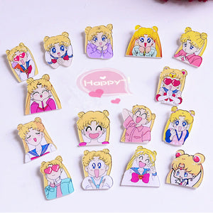 Sailor Moon Brooches Pin PN0509