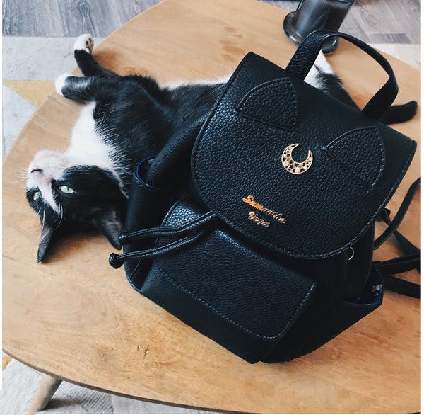 Fashion Luna And Artemis Backpack PN0335