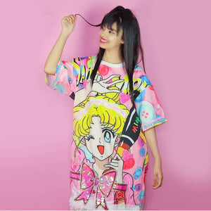 Kawaii Sailormoon Dress PN0231