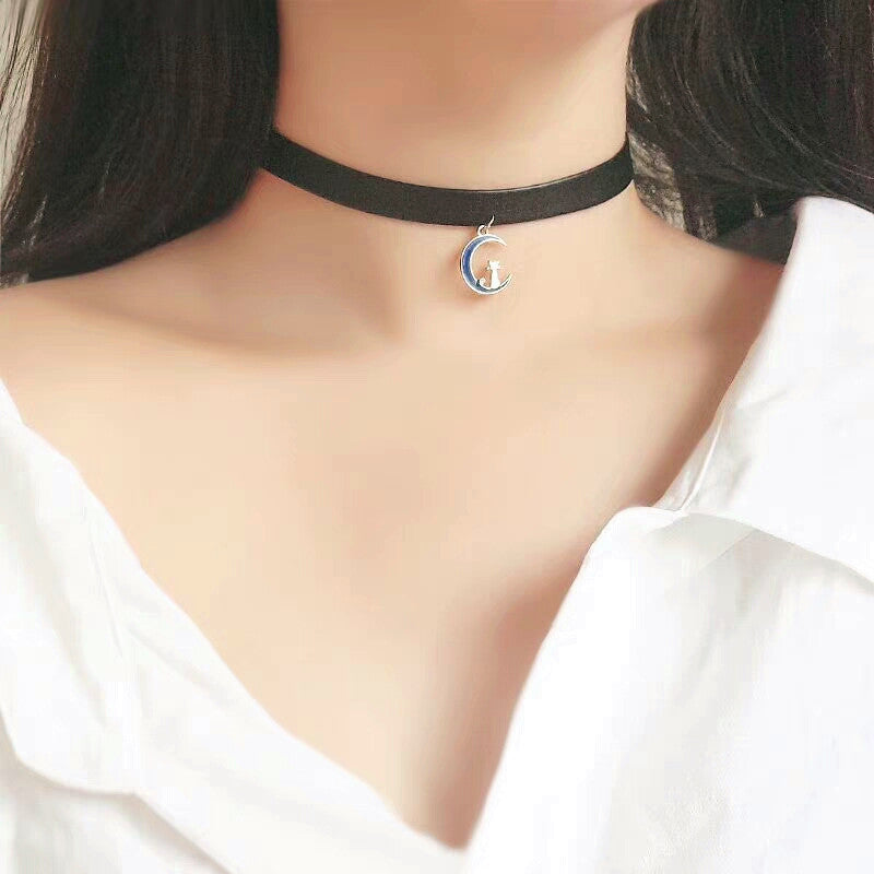 Moon And Luna Choker PN1007