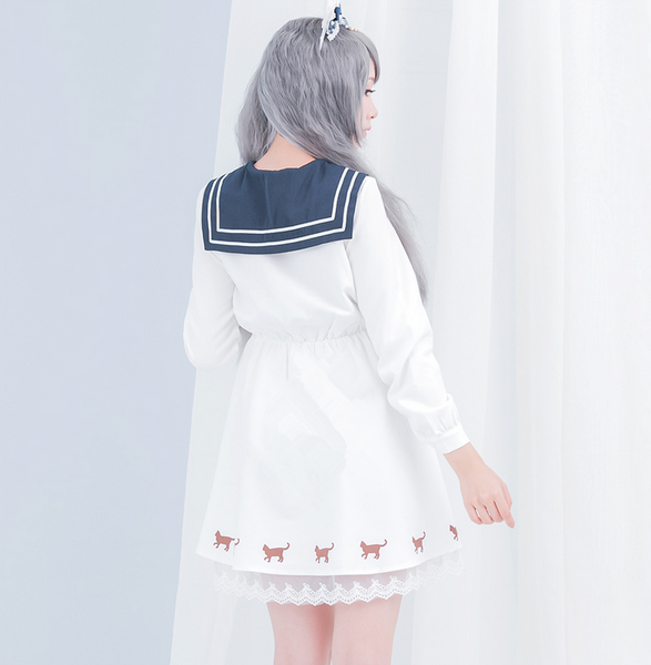 Sailor Moon Cosplay Navy Dress PN0239