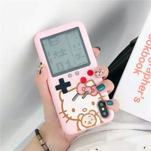 HelloKitty Gameconsole Phone Case for iphone 6/6s/6plus/7/7plus/8/8P/X/XS/XR/XS Max PN0599