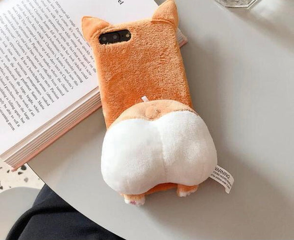 Kawaii Corgi Phone Case for iPhone 6/6s/6splus/7/7plus/8/8P/X/XS/XR/XS Max/11/11pro/11pro max PN2299