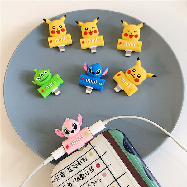 Cute Pikachu Earphone Wire Adapter For Iphone PN2002