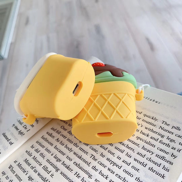 Ice Cream Airpods Protector Case For Iphone PN1166