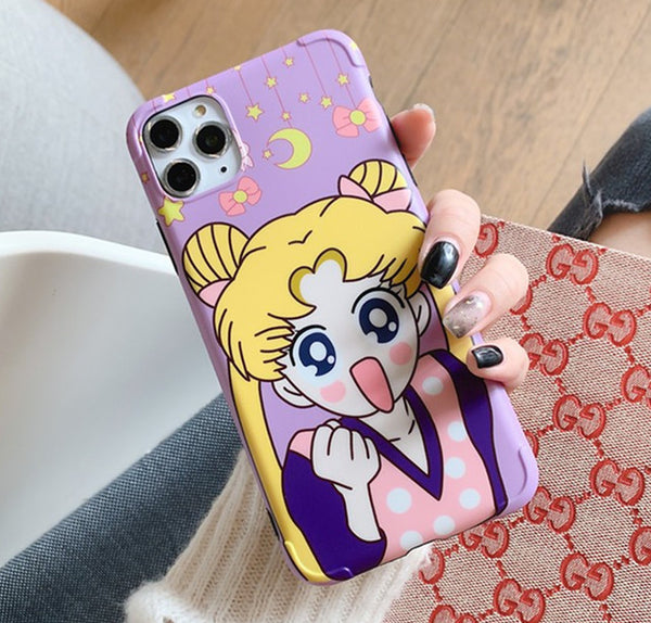 Lovely Usagi Phone Case for iphone 7/7plus/8/8P/X/XS/XR/XS Max/11/11pro/11pro max PN2216