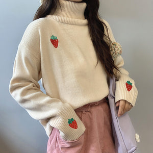 Fashion Strawberry Sweater PN3554