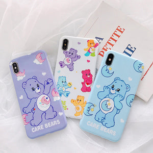 Lovely Bears Phone Case for iphone 6/6s/6plus/7/7plus/8/8P/X/XS/XR/XS Max PN1537