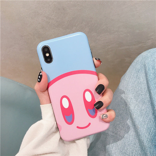 Cute Kirby Phone Case for iphone 6/6s/6plus/7/7plus/8/8P/X/XS/XR/XS Max PN1380