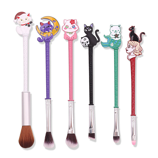 Lovely Cats Make Up Brush Set PN1984