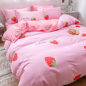 Fashion Strawberry Bedding Set PN2515