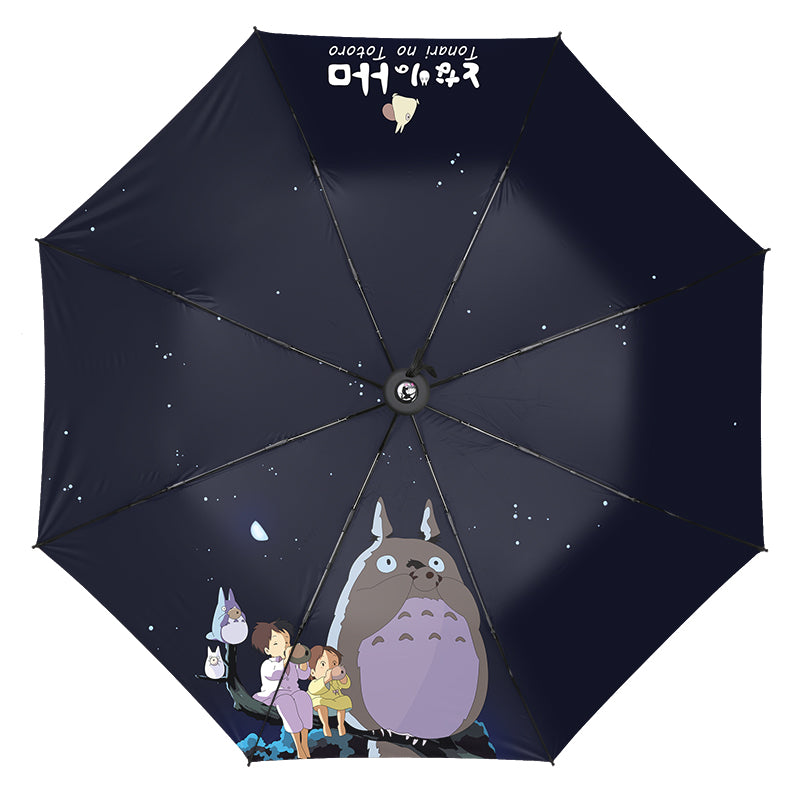 Kawaii Totoro Folding Umbrella PN1384