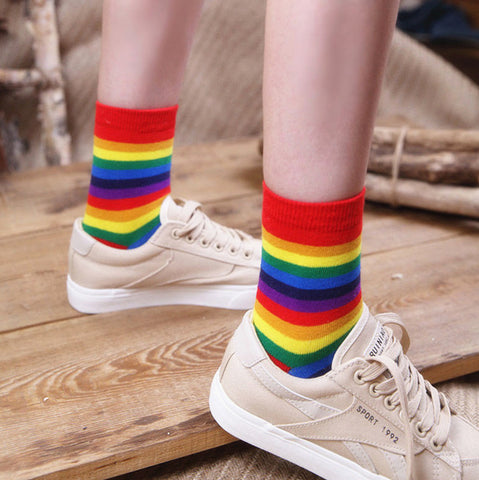 Colorful Rainbow Socks PN1794