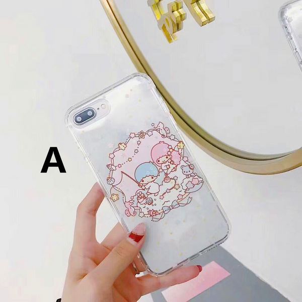 Mymelody And Little Twinstars Phone Case for iphone 6/6s/6plus/7/7plus/8/8P/X/XS/XR/XS Max PN0650