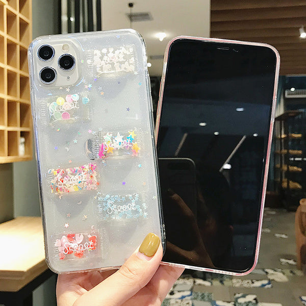 Sweet Candy Phone Case for iphone 6/6s/6plus/7/7plus/8/8P/X/XS/XR/XS Max/11/11pro/11pro max PN2528